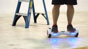 Maneuvering the Hoverboard